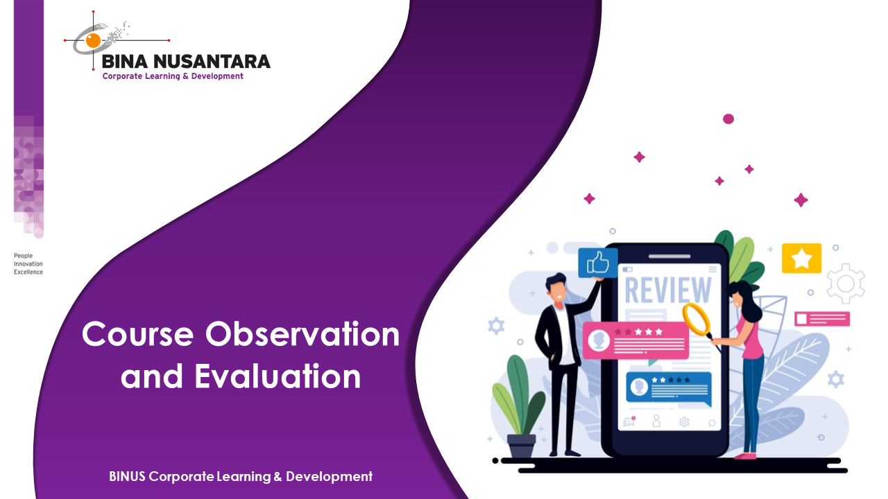 Course Observation and Evaluation